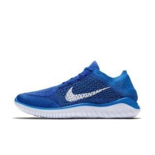 Nike Free RN Flyknit 2018 Hardloopschoen voor heren - Blauw Blauw