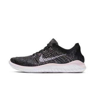 Nike Free RN Flyknit 2018 Hardloopschoen voor dames - Zwart Zwart
