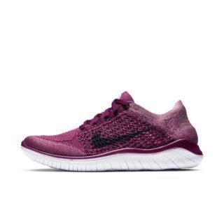 Nike Free RN Flyknit 2018 Hardloopschoen voor dames - Rood Rood