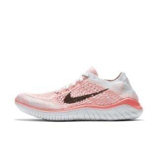 Nike Free RN Flyknit 2018 Hardloopschoen voor dames - Roze Roze
