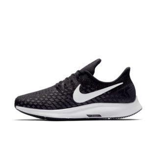 Nike Air Zoom Pegasus 35 Hardloopschoen voor dames (breed) - Zwart Zwart