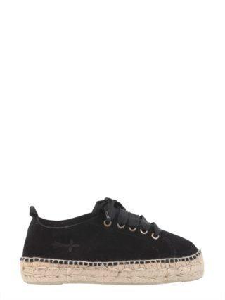 Manebi Manebi Hamptons Flatform Sneakers (zwart)