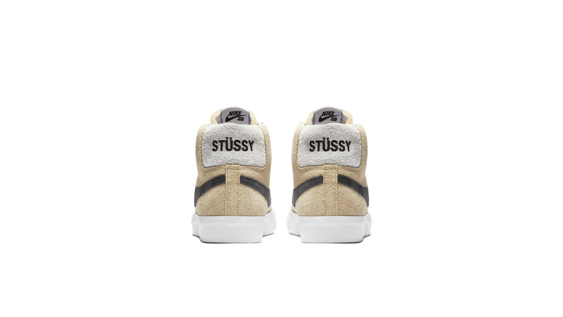 Stüssy X Lance Mountain X Nike SB Blazer Mid QS (AH6158-700)