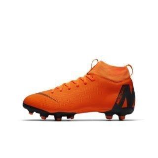 Nike Jr. Superfly VI Academy Voetbalschoen voor kleuters/kids (meerdere ondergronden) - Oranje Oranje