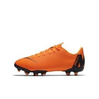 Nike Jr. Mercurial Vapor XII Academy Voetbalschoen voor kleuters/kids (meerdere ondergronden) - Oranje Oranje