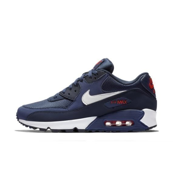 Nike Air Max 90 Essential Herenschoen – Blauw Blauw