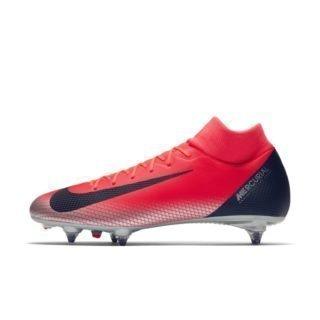 CR7 Superfly 6 Academy Voetbalschoen (zachte ondergrond) - Rood Rood