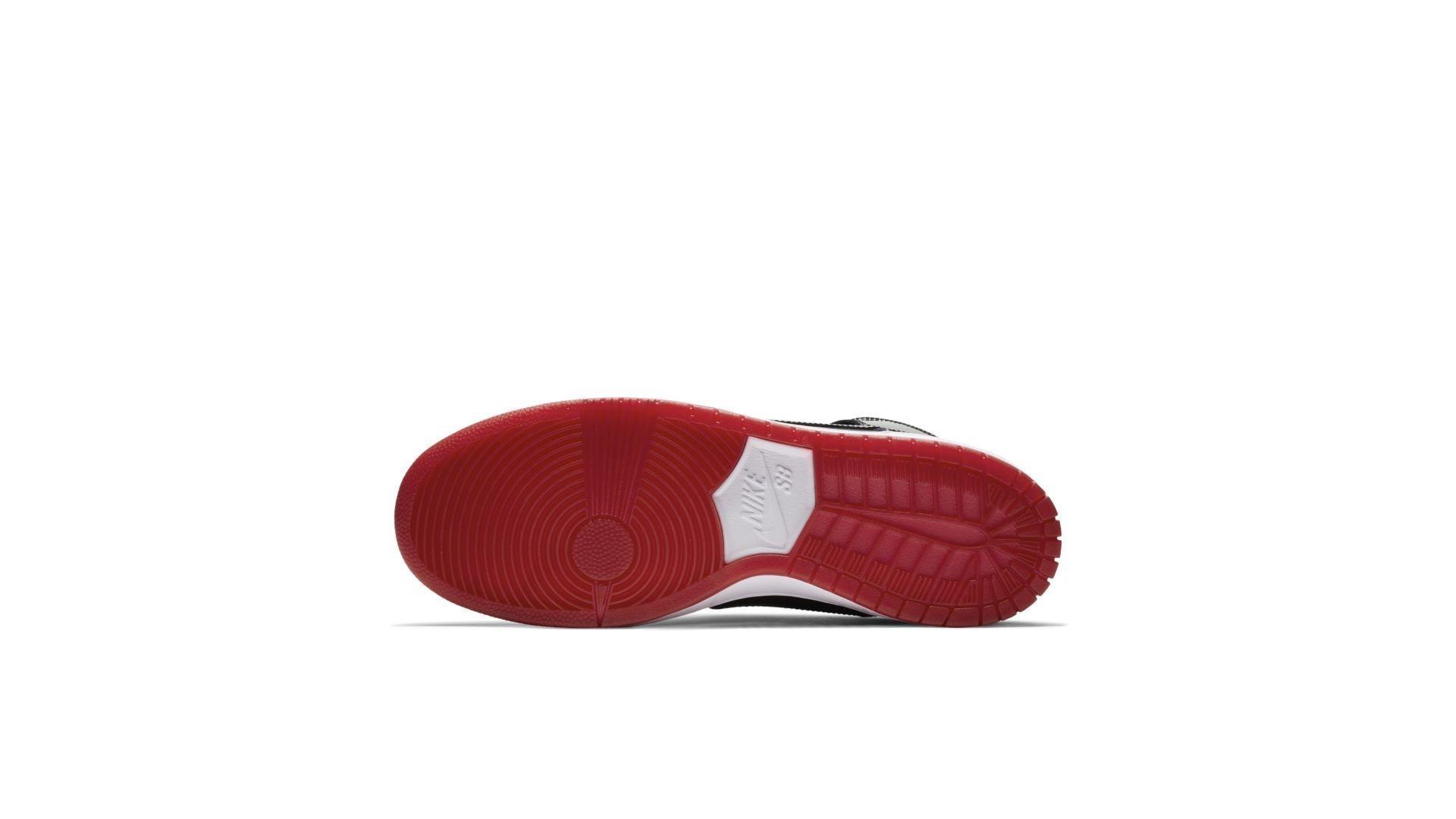 Nike SB Zoom Dunk High TR QS 'Bred' (AJ7730-001)