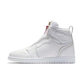 Air Jordan 1 High Zip Damesschoen - Wit Wit