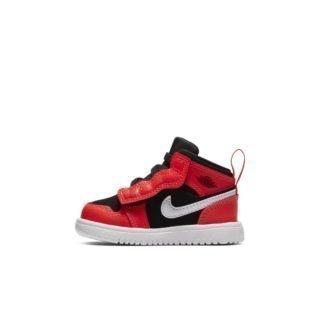 Air Jordan 1 Mid Alt Schoen voor baby's/peuters - Zwart Zwart