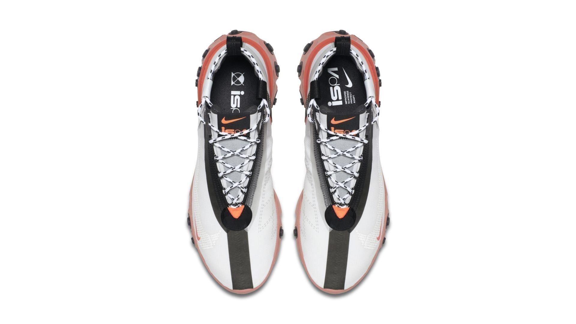 Nike React Runner Mid 'White Crimson' (AT3143-100)