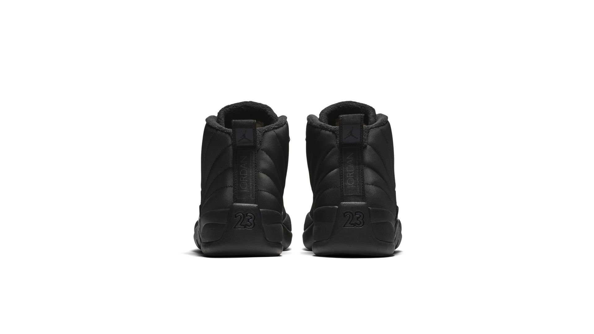 Air Jordan 12 Retro Winter 'Triple Black' (BQ6851-001)