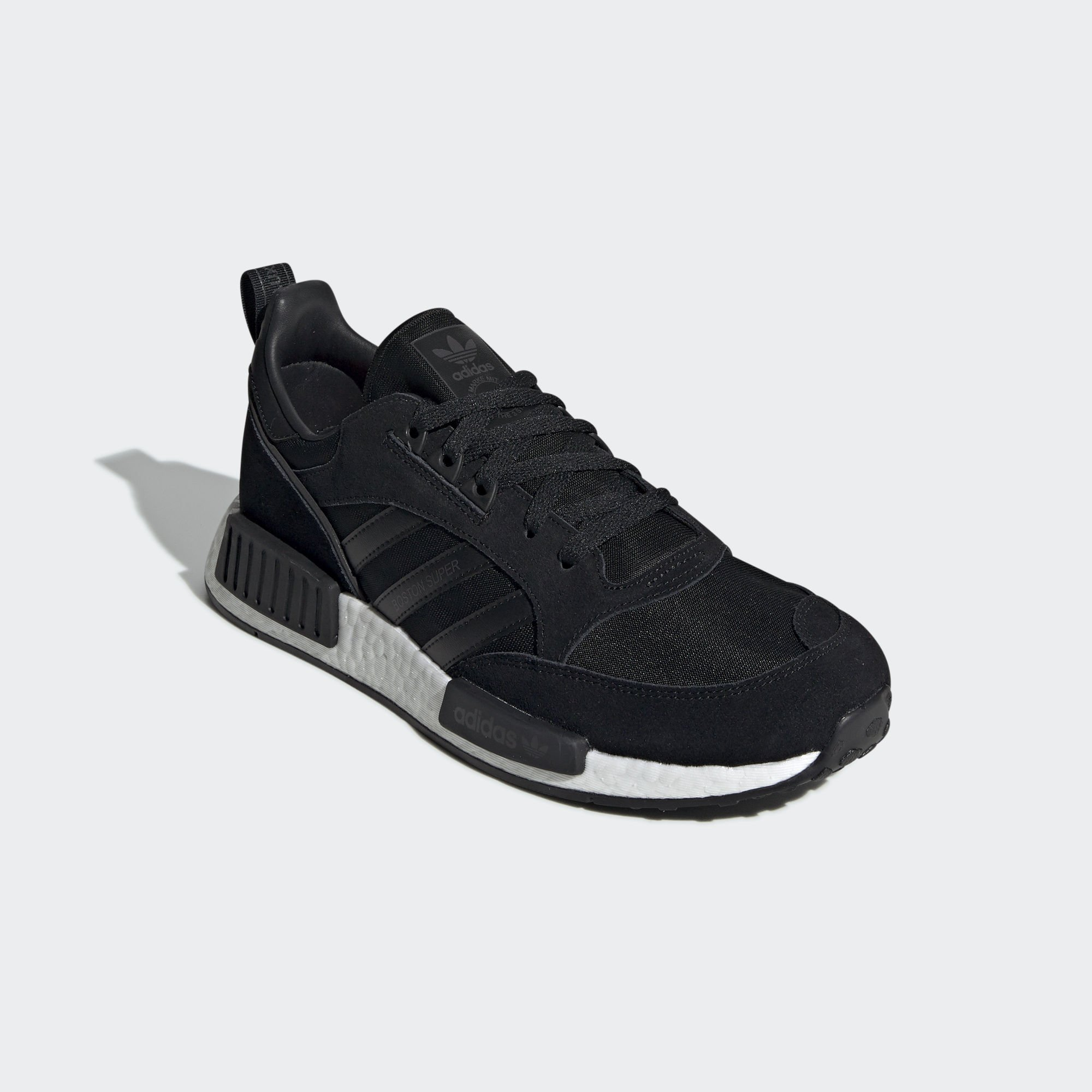 Adidas Boston Super x R1 Core Black / Utility Black / Solar Red (EE3654)
