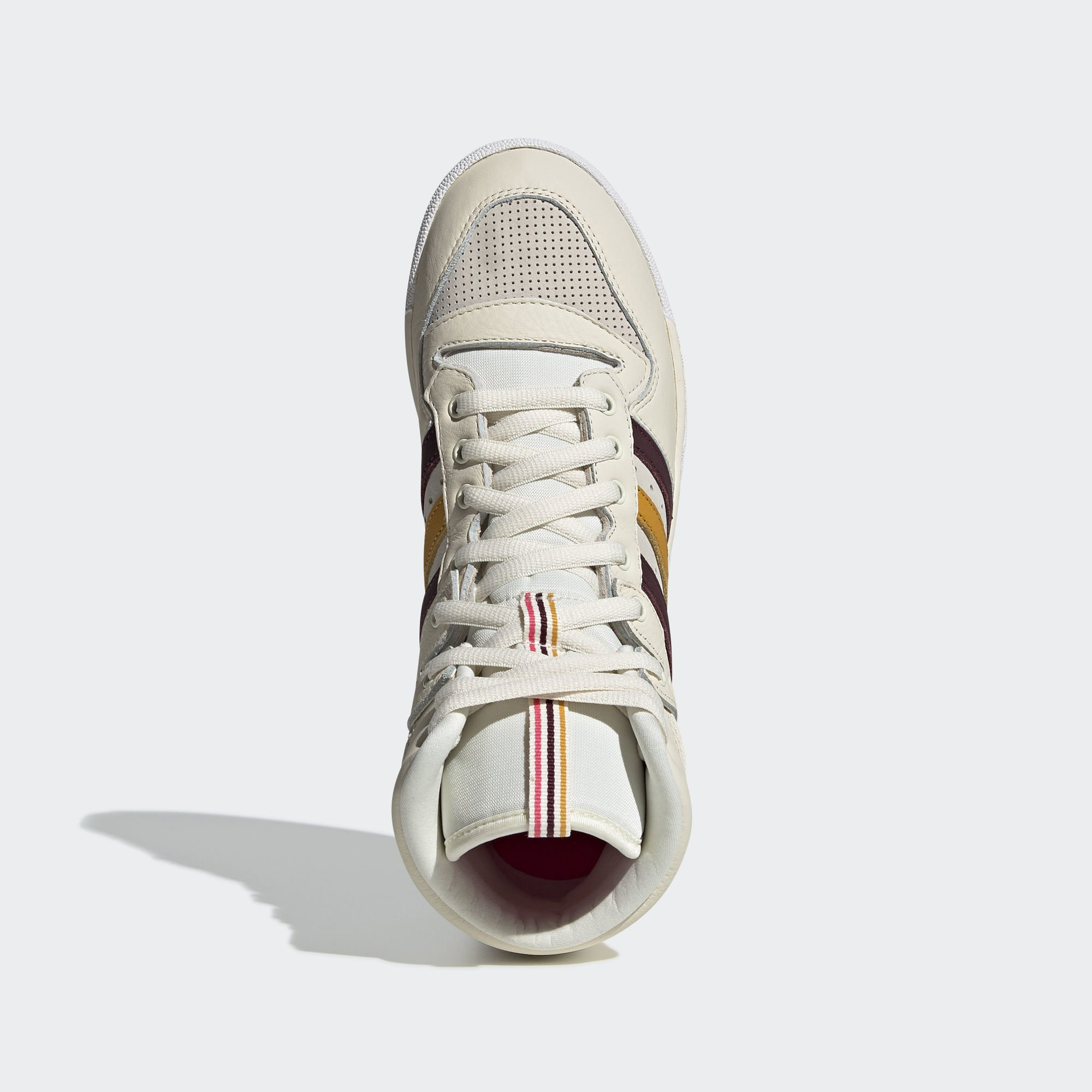 Adidas Eric Emanuel Rivalry Hi OG Cream White / Maroon / Customized (G25836)