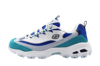 Skechers D'Lites - Second Chance Wmns (multicolor/wit)