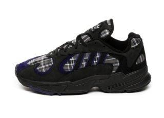 adidas Yung-1 (Core Black / Purple / Core Black)