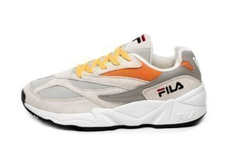 FILA Heritage FILA 94 Low (Gray Violet / Monument / Mandarine Orange)