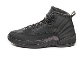 Nike Air Jordan 12 Retro *Winterized* (Black / Black - Anthracite)