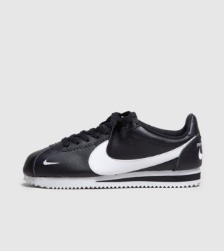 Nike Cortez Premium Dames (zwart)