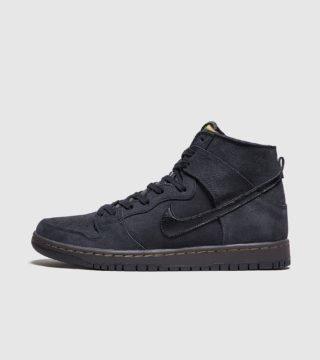 Nike SB Dunk Hi (zwart)