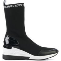 Michael Kors Grover knit boot zwart
