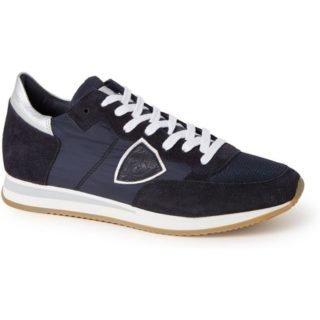 Philippe Model Tropez sneaker met suède details
