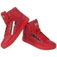Tamboga Hoge heren sneaker rood