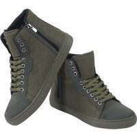 Tamboga Hoge heren sneaker suede details army