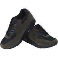 Tamboga Heren sneaker suede air army