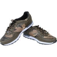 Manzotti Lage heren sneakers camouflage army