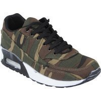 Tamboga Lage heren sneakers air camouflage army