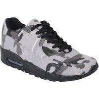 Tamboga Lage heren sneakers air camouflage grijs