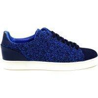 My Brand Woven low top sneakers – blauw