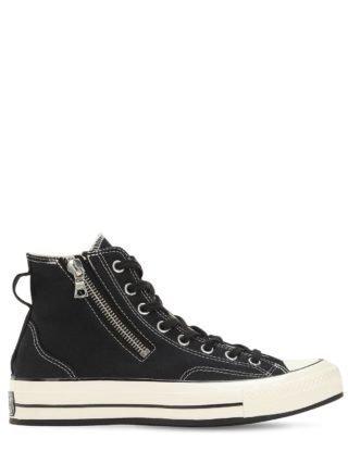 Chuck Taylor 70's Sneakers W/ Riri Zip (zwart)