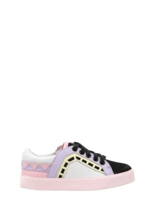 Riko Leather & Suede Sneakers (multicolor)