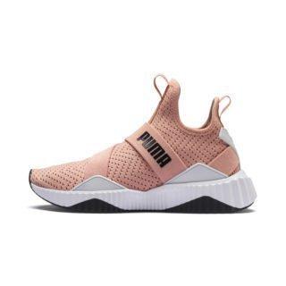PUMA Defy Mid Core Sneakers (Roze/Wit)