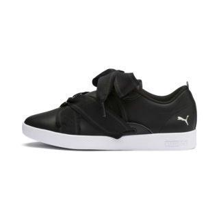PUMA PUMA Smash schoenen met gesp (Wit/Zwart)