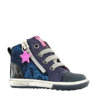 Shoesme leren sneakers donkerblauw (blauw)