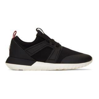 Moncler Black Meline Sneakers
