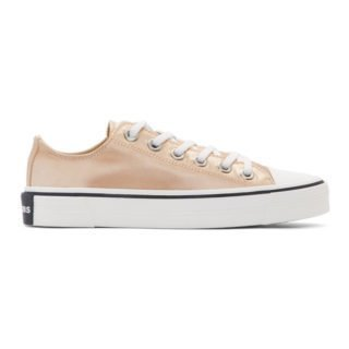 Marc Jacobs Pink Redux Grunge Satin Sneakers