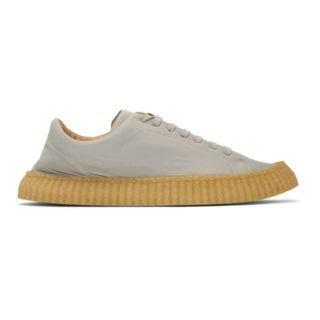 Jil Sander Grey Gressane Sneakers