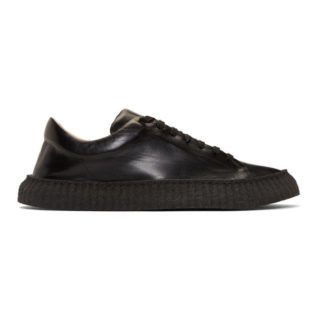 Jil Sander Black Tripon Sneakers