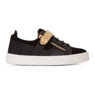 Giuseppe Zanotti Black Archer Sneakers