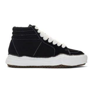 Miharayasuhiro Black Original Sole High-Top Sneakers