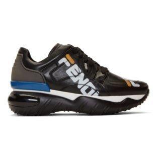 Fendi Black Fendi Mania Chunky Sneakers
