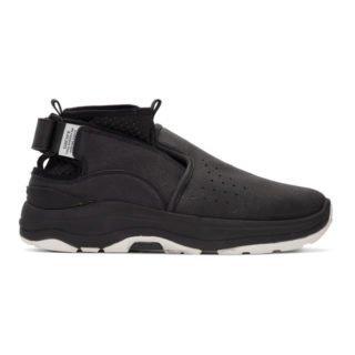 Suicoke Black RAC High-Top Sneakers