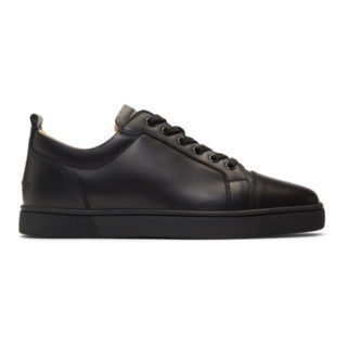Christian Louboutin Black Louis Junior Sneakers
