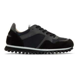 Spalwart Black Marathon Trail Sneakers