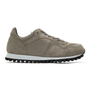 Spalwart Grey Mesh Marathon Trail Sneakers