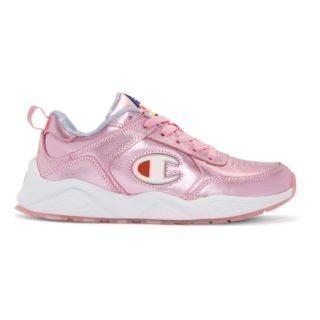 Champion Reverse Weave Pink 93Eighteen Metallic Sneakers